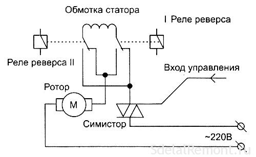 Схема прозвонки статора и ротора