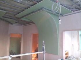 Оформление колонны гипсокартоном