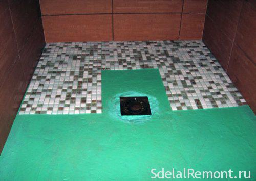 мозаика гидроизоляция