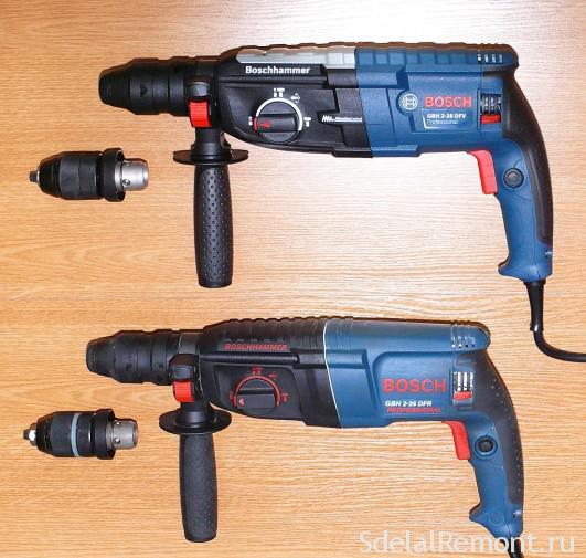 Bosch-оригинал(вверху) и подделка(внизу)