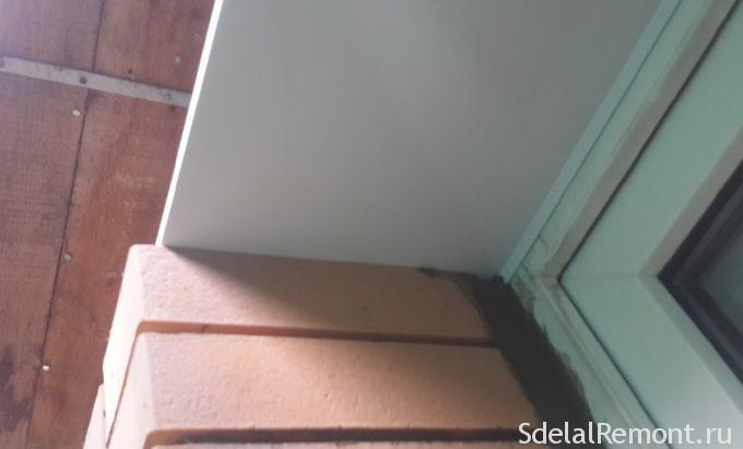 облицовка вокруг окона при облицовке кирпичом
