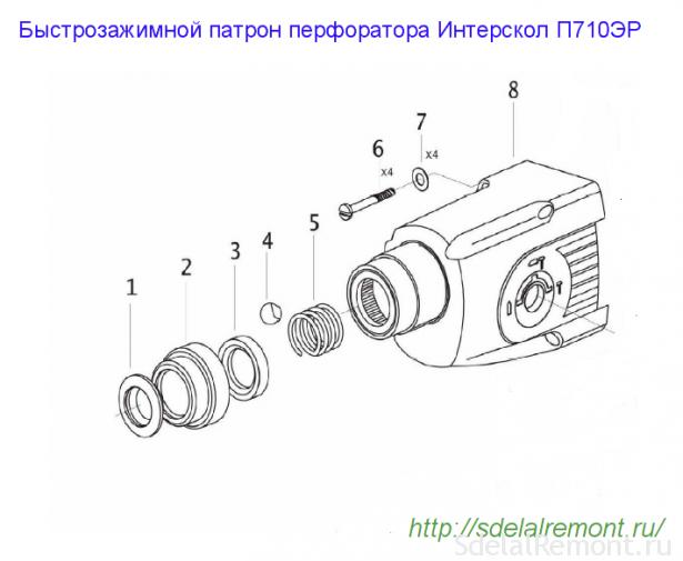 патрон п710