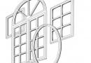 Замена разбитого стекла в деревянном окне