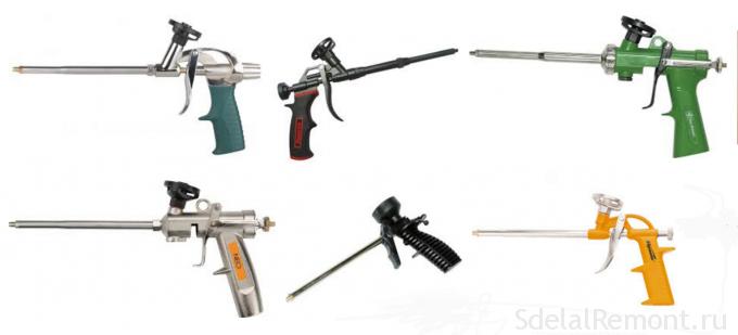 пистолеты монтажные