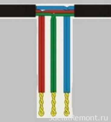 Ответвление провода без нарушения целосности провода
