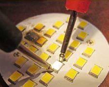 Ремонт светодиодного светильника в домашних условиях