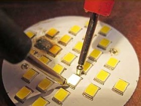 проверка светодиодов типа SMD