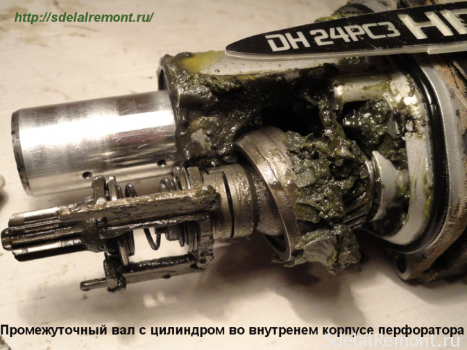 View lubrication immediately after disassembly