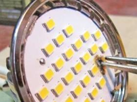 простой способ проверки контактов в цепи светодиодной платы
