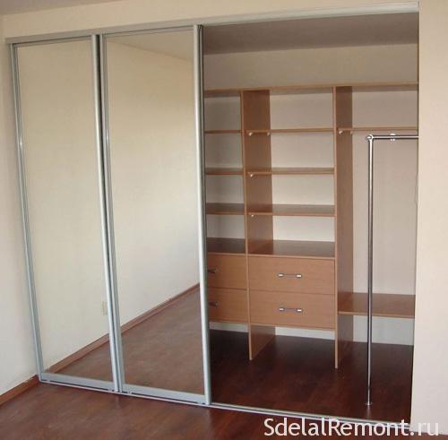 Раздвижные двери для шкафа