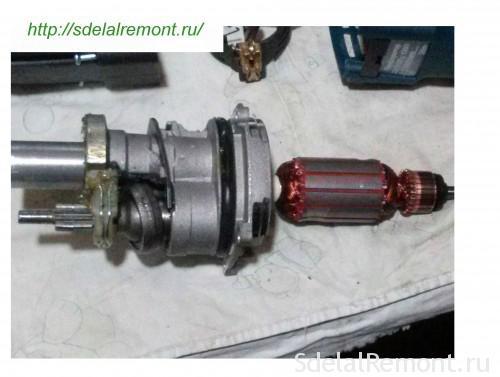 Соединение ротора и механизма ударного ствола
