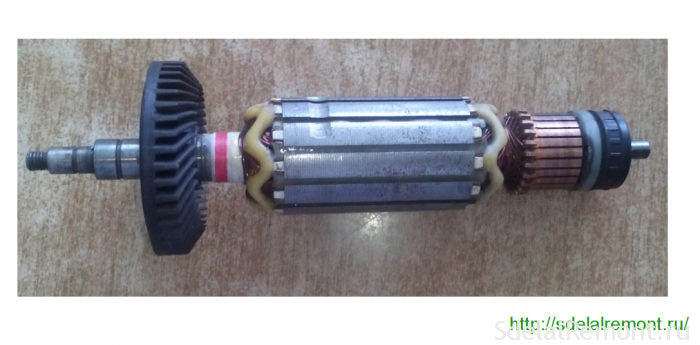 ротор макита 9565 без подшипинков