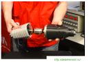 Assembling and greasing the gun Interskol