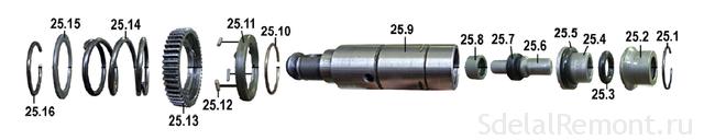 ствол в сборе Bosch 2-26