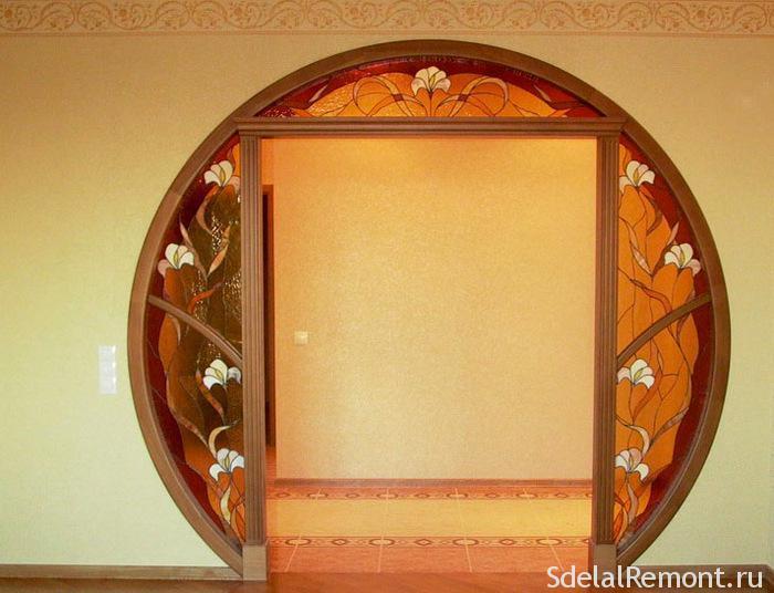 Как сделать дверной проем красиво