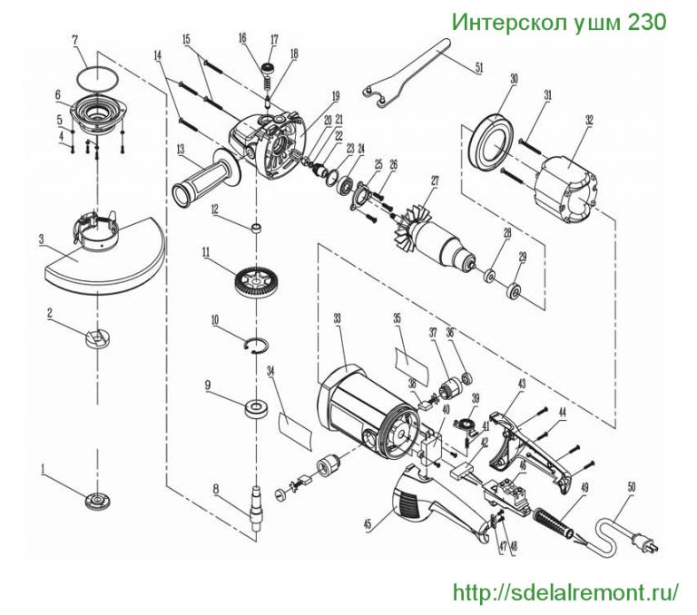 Ремонт электрогазонокосилки интерскол своими руками 30