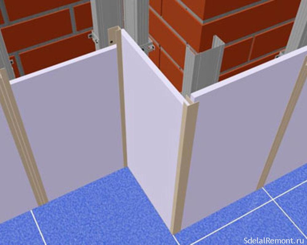 Как сделать ровными углы стен фото 936