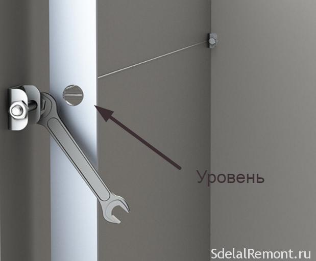 Инструкция установки струнных маяков