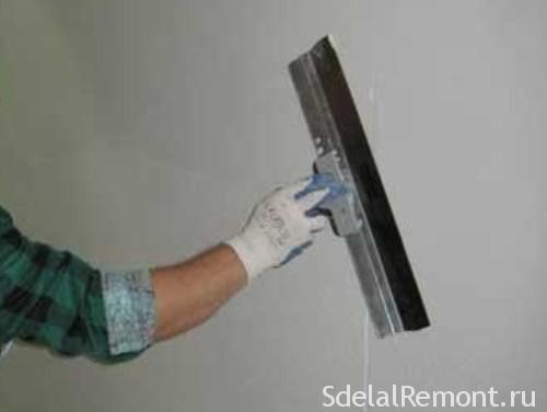 шпатлювання стін