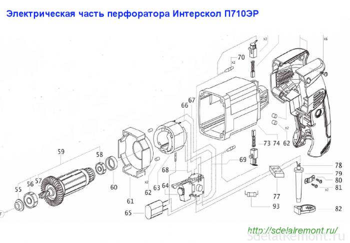 элсхема п-710