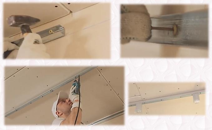 пошаговый алгоритм создания 2 уровня на парящем потолке