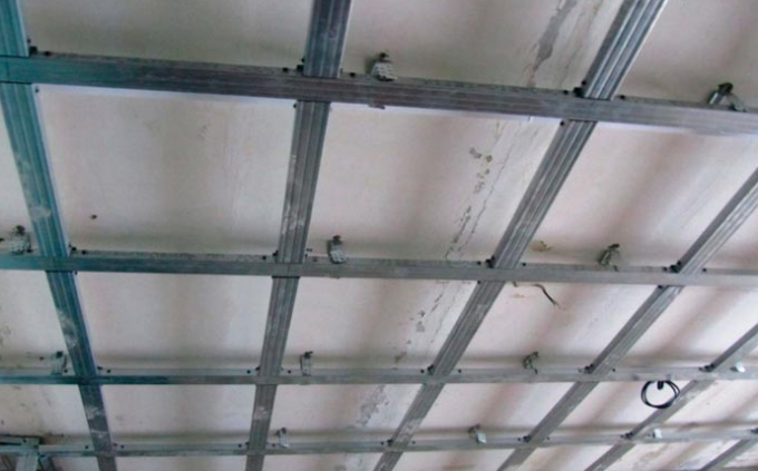 расчет профиля на потолок под гипсокартон