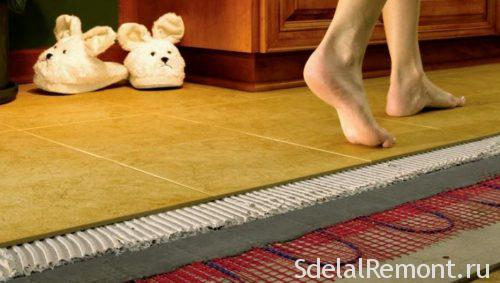 how to choose a warm floor