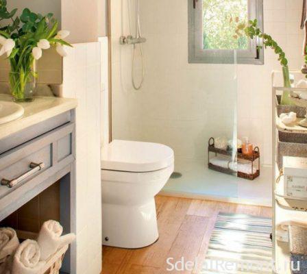 DIY installation toilets