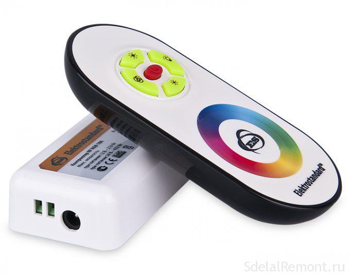 Контроллер, диммер для ЛЕД-ленты