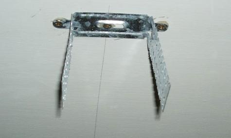 крепление для профиля на потолок под гипсокартон