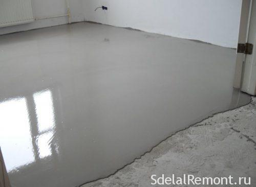 подготовка бетона под плитку