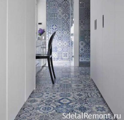 doors tile decoration
