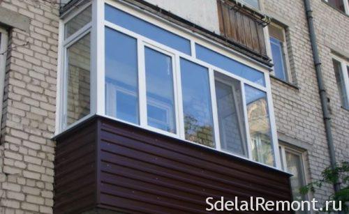Обшивка балкона сайдингом самостоятельно