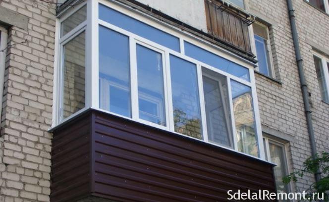 Обшивка балкона сайдингом снаружи своими руками: видео, фото.