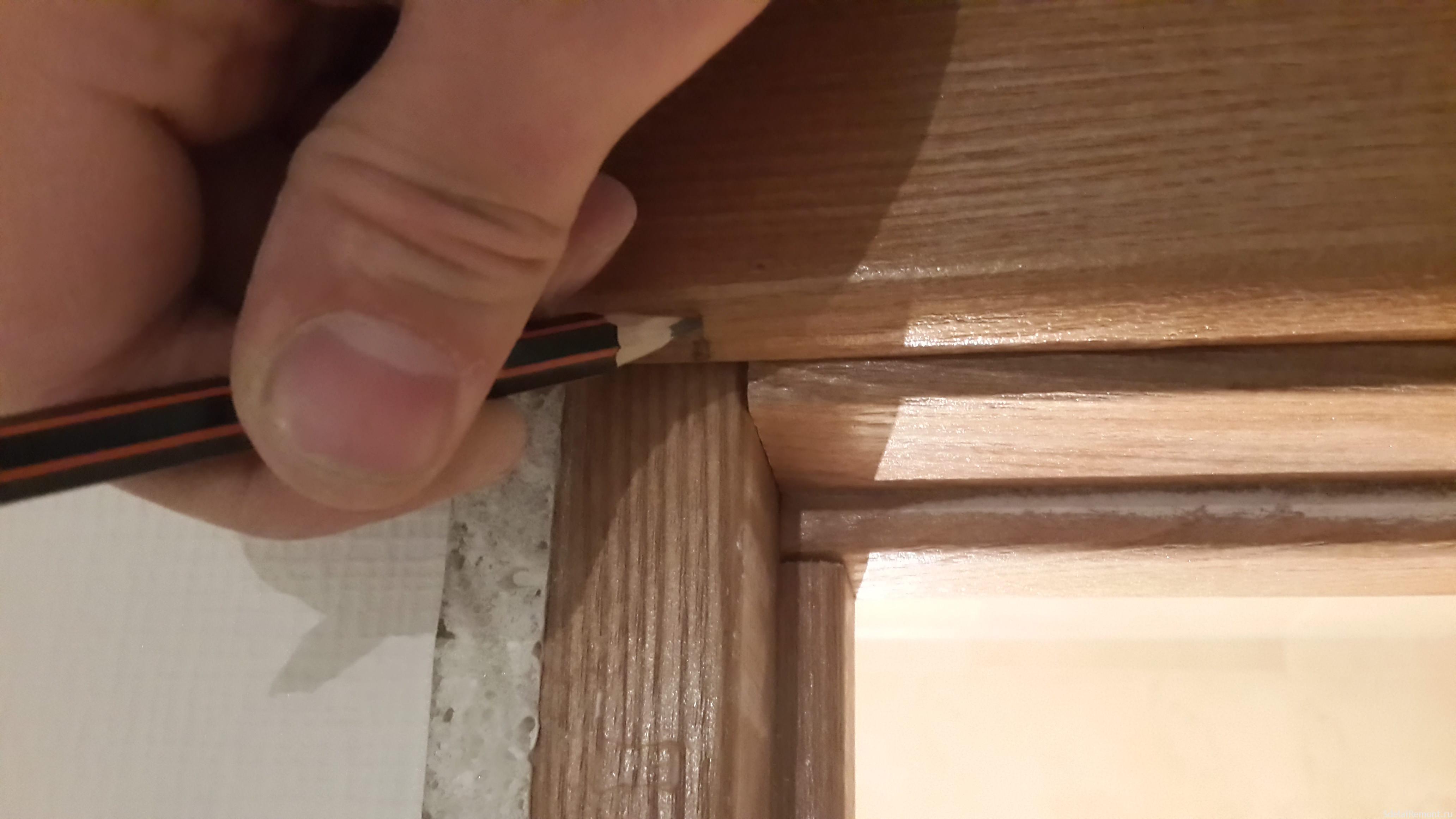 Установка межкомнатных дверей пошагово