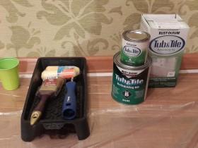 Инструменты для пораски ванны