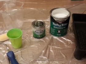 Отмеряем краску