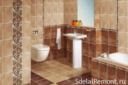 размеры плитки для ванны