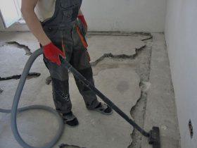 подготовка поверхности под выравнивание пола