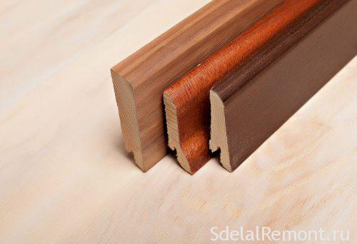 дерев'яний плінтус