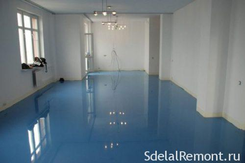 polyurethane self-leveling floor