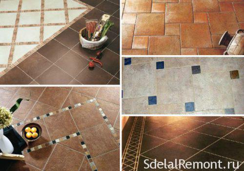 Bath options for tiling