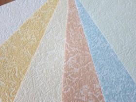 Types of non-woven wallpaper