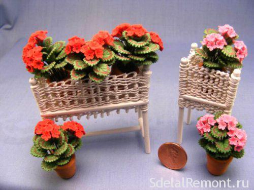 Подставки для цветов на подоконник