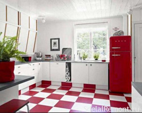 какая плитка для кухни на пол