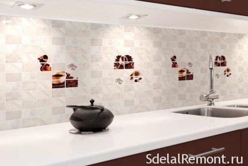 tiles for the kitchen apron