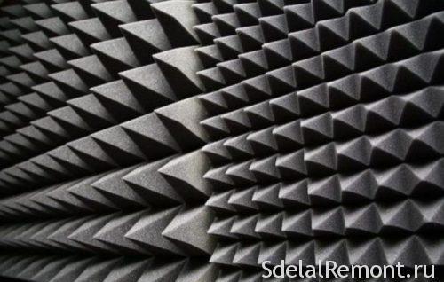 звукоизолирующий паралон