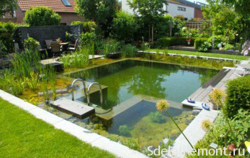Домашний бассейн самостоятельно