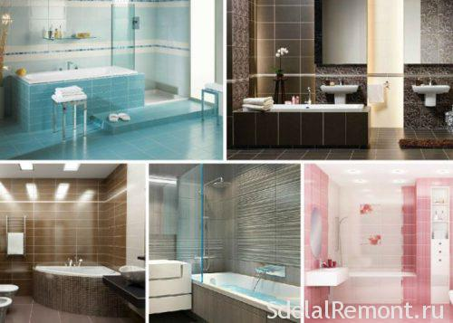 tiles in the bathroom photo
