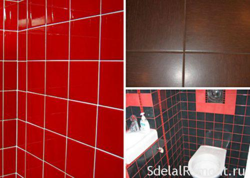 what color to choose for grouting tiles